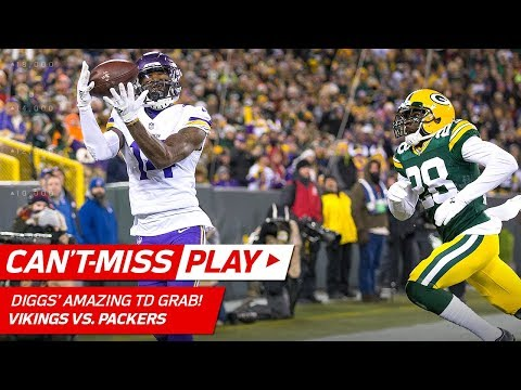 Video: Stefon Diggs' Toe-Tap TD to Extend the Lead vs. Green Bay! | Can't-Miss Play | NFL Wk 16 Highlights