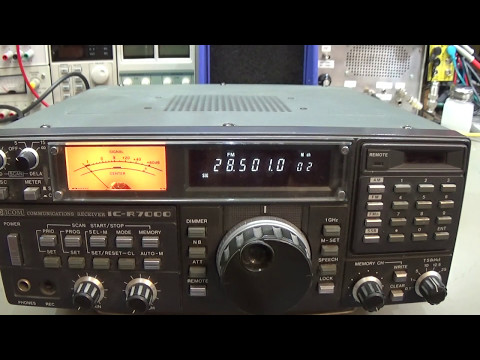 #137 Repair: ICOM IC-R7000 weak receive on 2m and no RX on 23cm