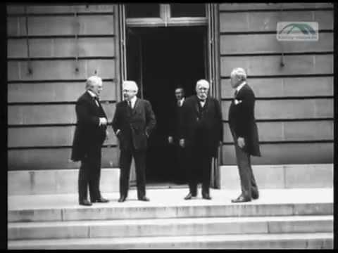 8. Januar 1918 - US-Präsident Wilson schlägt Friedens ...