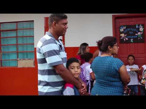 Inicio do ano Letivo nas Escolas Municipais em São José dos Quatro Marcos.