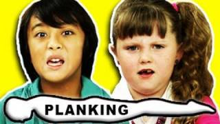 KIDS REACT TO PLANKING