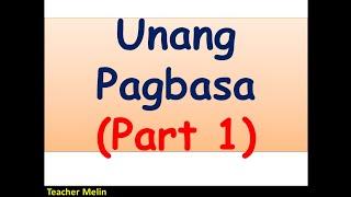 Video UNANG PAGBASA (Part 1) MP3, 3GP, MP4, WEBM, AVI, FLV September 2019