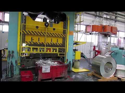 Presse hydraulique à col de cygne ZDAS LUD 500/2000 1968