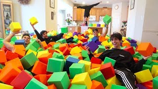GYMNASTICS FOAM PIT IN HOUSE!