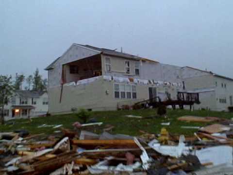 Tornado at England Run, Stafford, VA