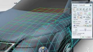 CATIA V6 | Surface Refinement | ICEM Products Introduction