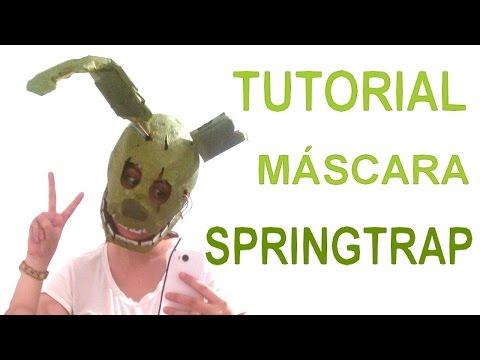 Как сделать springtrap