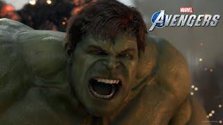 Почти 20 минут игрового процесса Marvel's Avengers