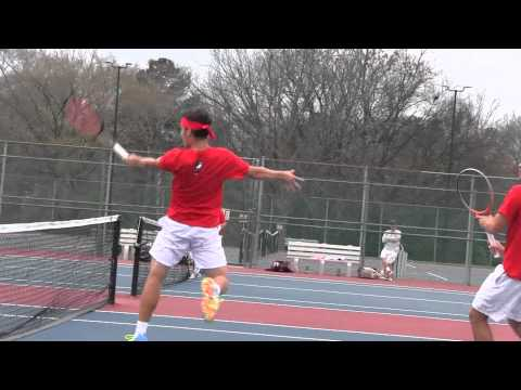 Postgame - Men's Tennis vs. Lander