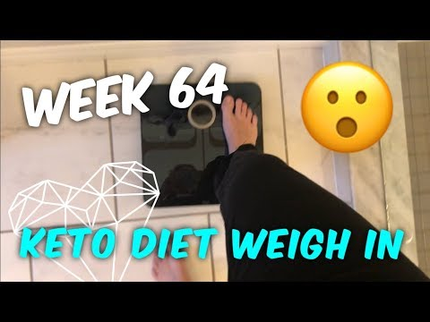 Keto Weight Loss - Week 64 Keto Diet Weigh In