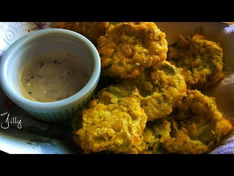 How to Make Fried Pickles Without Milk ~ Crispy Fried Pickles