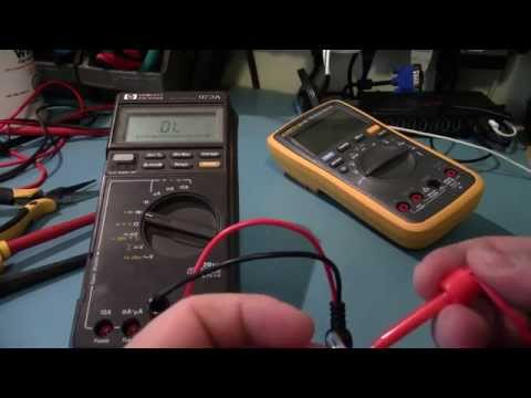 HP 973A Multimeter Teardown + Repair