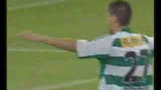 Branko Boskovic trifft gegen die Austria