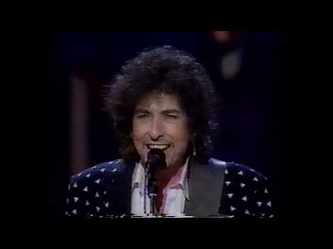 Bob Dylan + Stevie Wonder - I Shall Be Released + Blowin' In The Wind 1/20/86 HQ Stereo