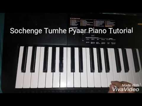 Video Sochenge Tumhe Pyaar Piano Tutorial download in MP3, 3GP, MP4, WEBM, AVI, FLV January 2017
