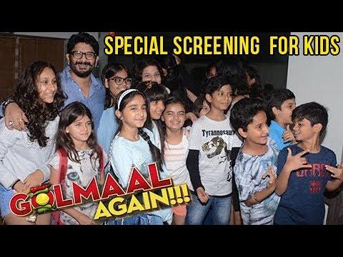 Arshad Warsi Hosts Golmaal Again Special Screenig