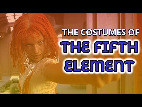 The Costumes of the Fifth Element (Leeloo / Korben Dallas)