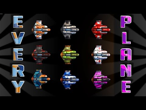 Every Sky Force Reloaded Ship :: Sky Force Reloaded All Planes