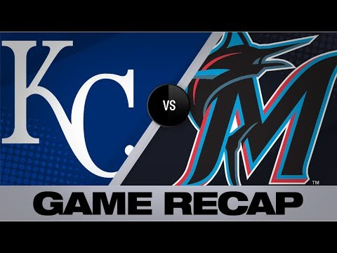Alcantara tosses a complete-game shutout | Royals-Marlins Game Highlights 9/8/19
