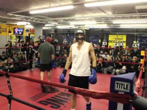 Smokers Bout – Mike Glowacki – The Ring Boxing Club -Boston, MA
