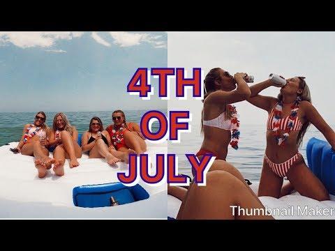 4TH OF JULY LAKE PARTY VLOG!