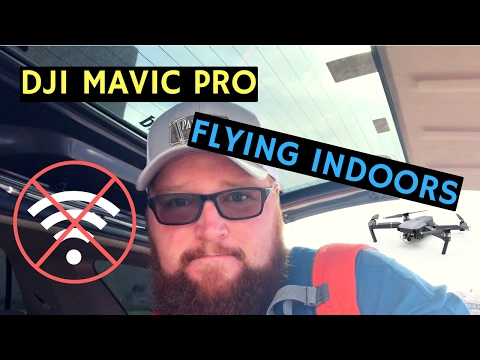 DJI Mavic Pro Indoor Flight - Mavic Pro Indoor Flying