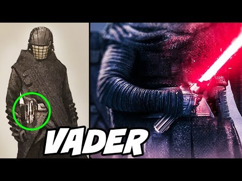 Knight of Ren HAS VADER39S LIGHTSABER and We All Missed it