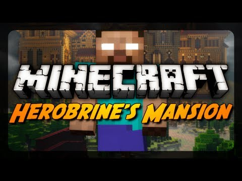 Minecraft Maps - Herobrine's Mansion - Pt. 1 - Insane in the Membrane!