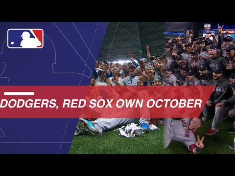 Video: Dodgers, Red Sox sizzle through postseason gauntlet