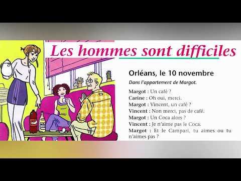 Learn French - Dialogues en français  -  débutant/ Intermédiaire, niveau DELF A1-A2
