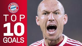 Video Arjen Robben's best goals for FC Bayern MP3, 3GP, MP4, WEBM, AVI, FLV April 2019
