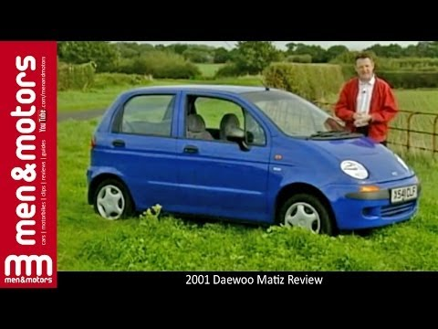 2001 Daewoo Matiz Review
