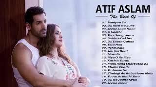 Video ATIF ASLAM New HIts Songs 2019 - Best Of Atif Aslam Playlist 2019 | Latest ROmantic Hindi SOngs MP3, 3GP, MP4, WEBM, AVI, FLV Mei 2019