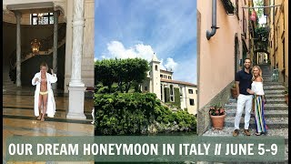 Y'all...TOTAL DREAM HONEYMOON!! Kyle surprised me with the most magical incredible trip to Lake Como in ITALY!! We wanted to blog for us to have this in the future and to take you guys on a little behind the scenes look into one of the most magical two weeks of my life. We explore our awesome hotel, take the most glam boat tour along the lake, explore so many little villages and eat everything in sight. I hope you love this! Please thumbs up and subscribe if you haven't!! Product Links:Necklaces: http://rstyle.me/n/cp5ceabyr9pCross Necklace: http://rstyle.me/n/cp5ce2byr9pBaguette Earrings: @ladybirdjewelryWhite V Neck: http://rstyle.me/n/cp5cfpbyr9pHotel: http://www.castadivaresort.comFlowy Pink Jumpsuit: http://rstyle.me/n/cp5cn6byr9pJumpsuit in Black: http://rstyle.me/n/cn8rwrbyr9pBlack Spike Flat Sandals: Guiseppe Zanotti (similar pair here) http://rstyle.me/n/cp5cybbyr9pWhite Clutch: @mabylofficialLip Gloss(also my wedding lip gloss)(Sahara Pink): http://rstyle.me/n/cp5cp7byr9pGrey Sweater($50): http://rstyle.me/n/cp5cq8byr9pOff Shoulder White Top: http://rstyle.me/n/cn85gjbyr9pBlue Shorts: http://rstyle.me/n/cn85fpbyr9pWhite Jeans: http://rstyle.me/n/cp5csibyr9pBlack Fringe Fanny Pack (code: MALLORY15 for 15% off): https://shopjenniferhaley.comOff The Shoulder Embroidered Dress: http://rstyle.me/~9ZjxcRound Glasses: http://rstyle.me/n/cp5cw6byr9pStriped Pants: http://rstyle.me/~9YHFVBrown Fringe Fanny Pack (code: MALLORY15 for 15% off): https://shopjenniferhaley.comBlack Long Sleeved Dress(short sleeved version)($15): http://rstyle.me/n/cp5cugbyr9pMy Links:Blog: http://malloryervin.comInstagram: @malloryervinSnapchat: malloryervinTwitter: @malloryervinFacebook: @TheOfficialMalloryErvin and @malloryervinPinterest: malloryervinKyles Instagram: @kyledimeola