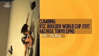 Upcoming Event Trailer - IFSC Climbing World Cup Hachioji-Tokyo 2017 - BOULDERING by International Federation of Sport Climbing