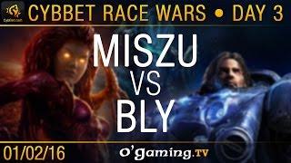 Miszu vs Bly - TvZ - CybBet Race Wars - Day 3