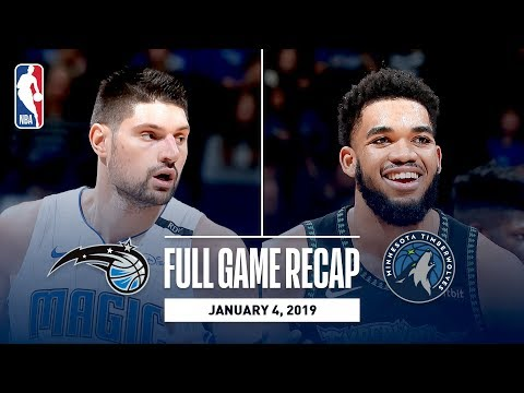 Video: Full Game Recap: Magic vs Timberwolves | Karl-Anthony Towns Shows Out In Minnesota