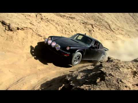 Porsche 911 goes Off Roading in the hills!
