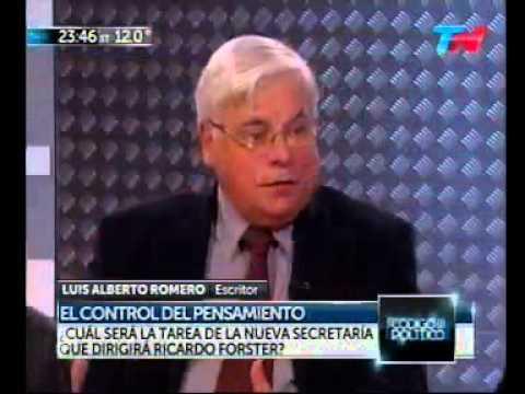 Luis Alberto Romero en Código Político – 05/06/2014