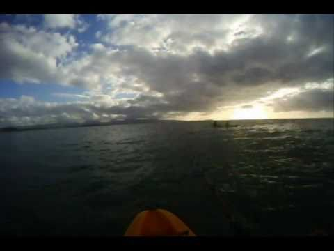 Kayak Fishing For O'io & Papio Off Ewa Beach, Hawaii – Jan 2011