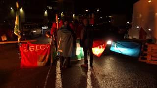 Diegem Belgium  city photo : Roadblock Action Diegem / Belgium December 8 2014 -4-
