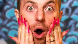 Video The Try Guys Get Nail Extensions MP3, 3GP, MP4, WEBM, AVI, FLV Februari 2019