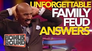 Video UNFORGETTABLE FAMILY FEUD Answers & Steve Harvey Funny Moments On Family Feud USA! MP3, 3GP, MP4, WEBM, AVI, FLV Juni 2019