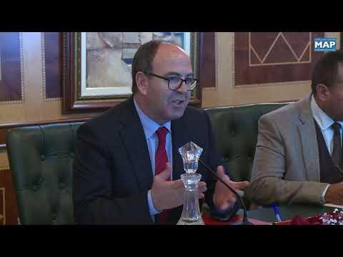 السيد بنشماش يستقبل الأمين العام لوزارة الخارجية البريطانية