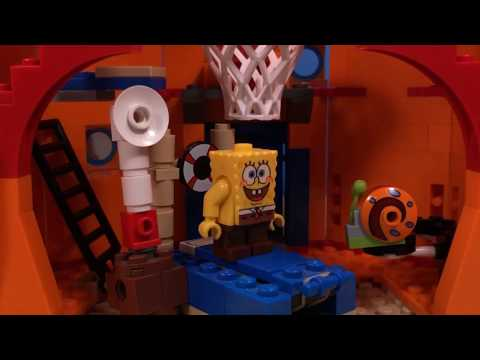 Lego Spongebob Home sweet pineapple
