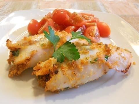 calamari ripieni al forno - ricetta