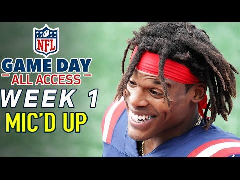 "NFL Week 1 Mic'd Up! ""We stayin' fresh as huggies, FRESH"" | Game Day All Access 2020"