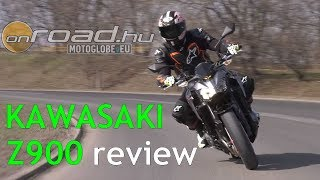 9. Kawasaki Z900 review (4K) - Onroad.bike