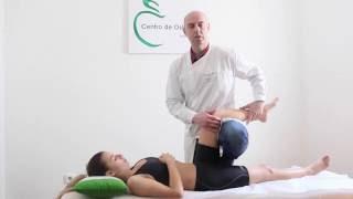 Manipulação articular Coxo - femural