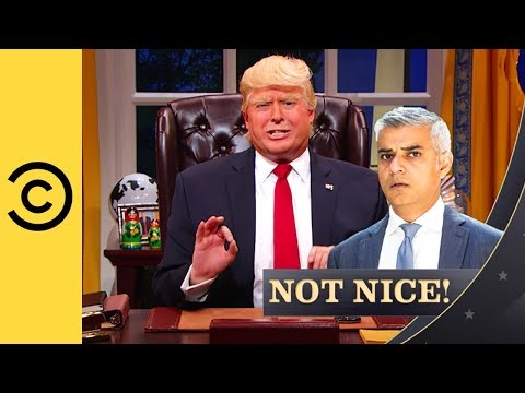 The President Is A Khan Artist - The President Show | Comedy Central